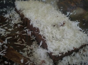 coconut fudge