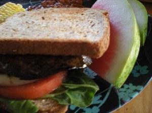 yummy portabella burger